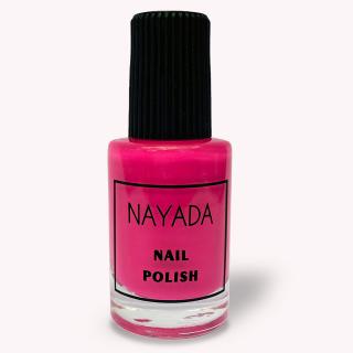 Лак для стемпинга Nayada «Розовый» объёмом 8 мл