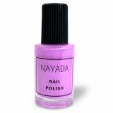 """Лак для стемпинга Nayada """"Нежно розовый"""" №025 объёмом 8 мл"""